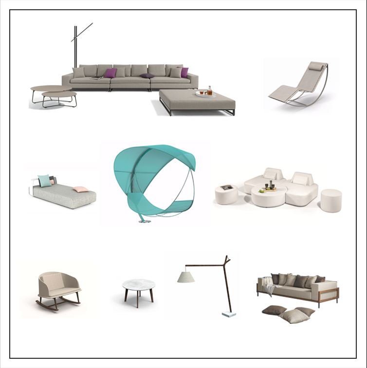 With our prestigious outdoor furniture you can find emotions, feelings and comfortable atmospheres in the garden.
